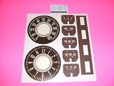 1946 1947 1948 chevy fleetmaster gauges speedometer Decals clock too