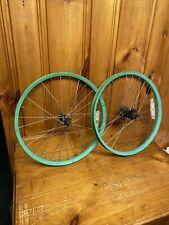 "80s Old School Dachang 20"" Coaster Brake Bicycle Wheel Set BMX Freestyle Bike"