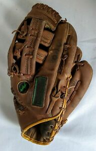 Vintage Ted Williams Autograph Model All Leather Baseball Glove Sears Roebuck