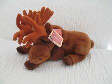 "Dakin Lou Rankin Friends Realistic Plush Brown  Miles Moose 15"" Free Shipping"