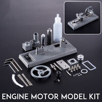 Mini Hot Air Stirling Engine Motor Model Steam Power Educational Toy Gifts