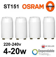 Starter pour tubes fluorescents 4...22 W St 151 OSRAM