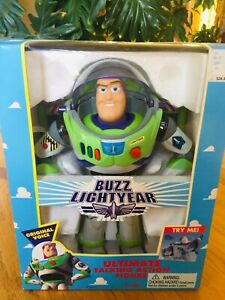 THINKWAY TOYS DISNEY'S TOY STORY BUZZ LIGHTYEAR ULTIMATE TALKING ACTION FIGURE