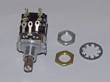 10K LOG POTENTIOMETER WITH PUSH PULL SWITCH PIHER T-21 SERIES