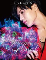TAEMIN-FLAME OF LOVE-JAPAN CD+DVD Ltd/Ed G82