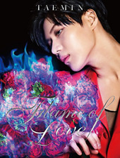 TAEMIN-FLAME OF LOVE-JAPAN CD+DVD Ltd/Ed G82