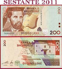 ALBANIA   -  200 LEKE 2001  -   P 67  -  FDS / UNC