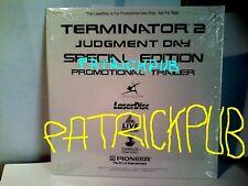 "Terminator 2 Judgment Day Laser Disc 8"" 1993 SIGILLATO   NO DVD    NO BLURAY"