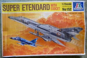 Italeri (No. 152) Super Etendard with Exocet in 1:72 Scale