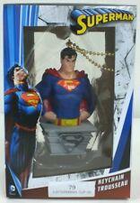 SUPERMAN  Christmas Ornament Key Chain Made By Kurt S. Adler NEW