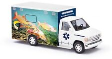 "Busch 41841 - 1/87/h0 FORD e-350 Ambulance-Wyoming Medical Center ""Cutthroat"
