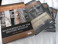 MASTERPIECES OF THE BRITUSH MUSEUM SET OF 6 DVDs BBC TV DVD BOX SET PAL