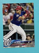 2018 Topp's Updated Rookie Card of Juan Soto # 300 See Description