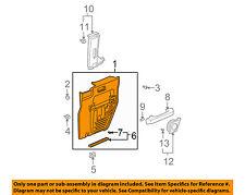 HONDA OEM 07-08 Element-Door Interior Trim Panel Left 83784SCVA21ZA