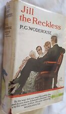 Jill the Reckless by P.G. Wodehouse - c.1939 Edition w Original Dustjacket