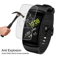 5Pcs Anti Scratch Clear Screen Protector Shield Film For Samsung Gear Fit 2 Pro