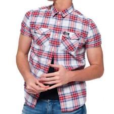 Camisas y polos de hombre rojos Superdry