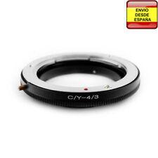Anillo adaptador lentes Yashica / Contax a Cuatro Tercios 4/3 Four Thirds