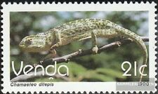 Venda 208 mint never hinged mnh 1990 Postage stamp: Reptiles