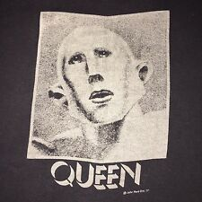 "Vintage 1977 QUEEN ""News Of The World"" T-Shirt 70s Tour Concert Medium"