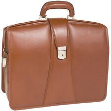 """McKleinUSA HARRISON Brown 83384 Laptop Case 17"""" x 7"""" x 14"""" NEW"""