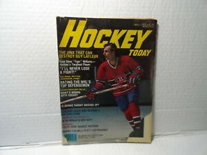 NHL - HOCKEY TODAY MAGAZINE - 1977 - GUY LAFLEUR  ON COVER - GOOD CONDITION