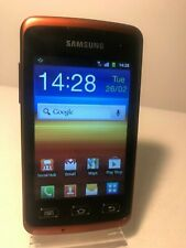 Samsung Galaxy Xcover GT-S5690 - Black Orange (Unlocked) Smartphone Mobile