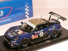 Porsche 911 RSR #80 Ebimotors Nielsen 31st Le Mans 2018 - Spark 1/43 (S7040)