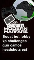 Call of Duty:Modern Warfare Boost Bot Lobby Same Day Service Ps4 Xbox Pc