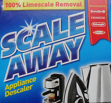 Scale Away limescale descaler kettle iron coffee machine cleaner scaleaway