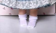 Doll Socks Small White 4 Pair Berenguer Kish Ginny Madame Alexander Troll Dolls