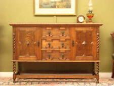 Oak European Jacobean Antique Furniture