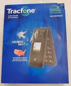 Tracfone - Alcatel MyFlip - Gray - NEW