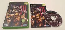 The House of the Dead III 3 Microsoft Original Xbox PAL Complete Sega Rare