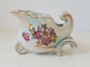 Antique Porcelain Cart Creamer Dish