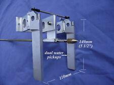 "1Set Cnc Alu Dual Rudder with 1/4"" Flex Cable Set for Rc Boat Parts"