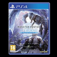 Monster Hunter Monde iceborne-Master Edition (PS4) - Inc Steelbook