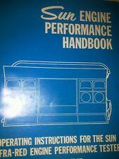 Sun electric eet 945 947 INFRA RED ENGINE TESTER user manual pdf computer cd