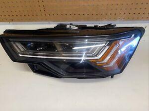 2019-2020 Audi A6  LH Headlight assembly.