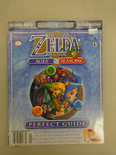 The Legend of Zelda: Oracle of Seasons & Ages Strategy Book/Guide Used w/Maps