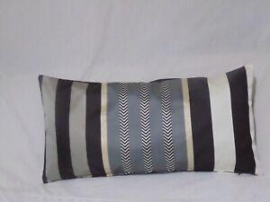 Designers Guild Fabric Hiranya Noir Cushion Cover / Pillow