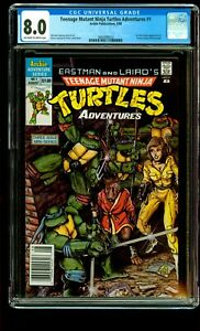 Teenage Mutant Ninja Turtles Adventures #1 CGC 1st Bebop, Rocksteady, Krang TMNT