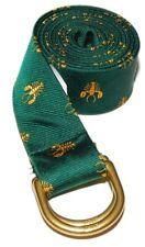$125 Polo Ralph Lauren Mens Nautical Grosgrain Lobster Ribbon Belt Green Small