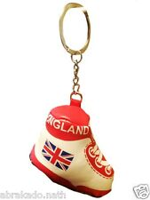 1 PORTE CLE CHAUSSURE DE FOOT ANGLETERRE UK SUPPORTER 8 X 7 CM