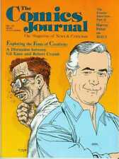 Comics Journal # 113 (Gil Kane - Robert Crumb discussion) (USA, 1986)