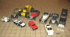 Lot of 10 Loose Cars & Trucks, Plastic - Diecast - Matchbox size, Some Larger