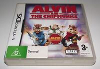 Alvin and the Chipmunks DS 2DS 3DS Game *No Manual*
