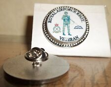 HM Armed Forces Royal Air Force Regiment (SLR) Veteran lapel pin badge .