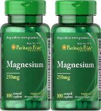2 Magnesium 250 mgr. 100 tabletten
