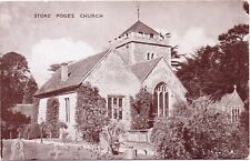 Vintage Postcard Stoke Poges Church Slough Beaconsfield (St Giles Church)